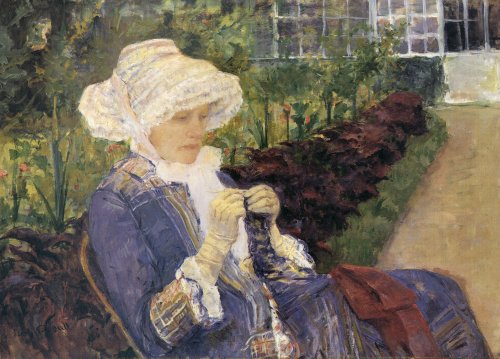 Mary Cassatt, The Garden