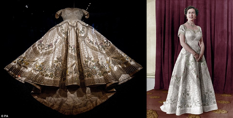 Seven Quick Takes No. 131: A Royal Friday! — Emily M. DeArdoQueen Elizabeth Coronation Dress