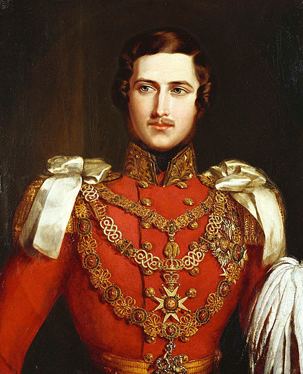 Prince Albert around the time of his marriage to Victoria.