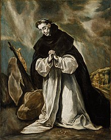 El Greco,  St. Dominic In Prayer