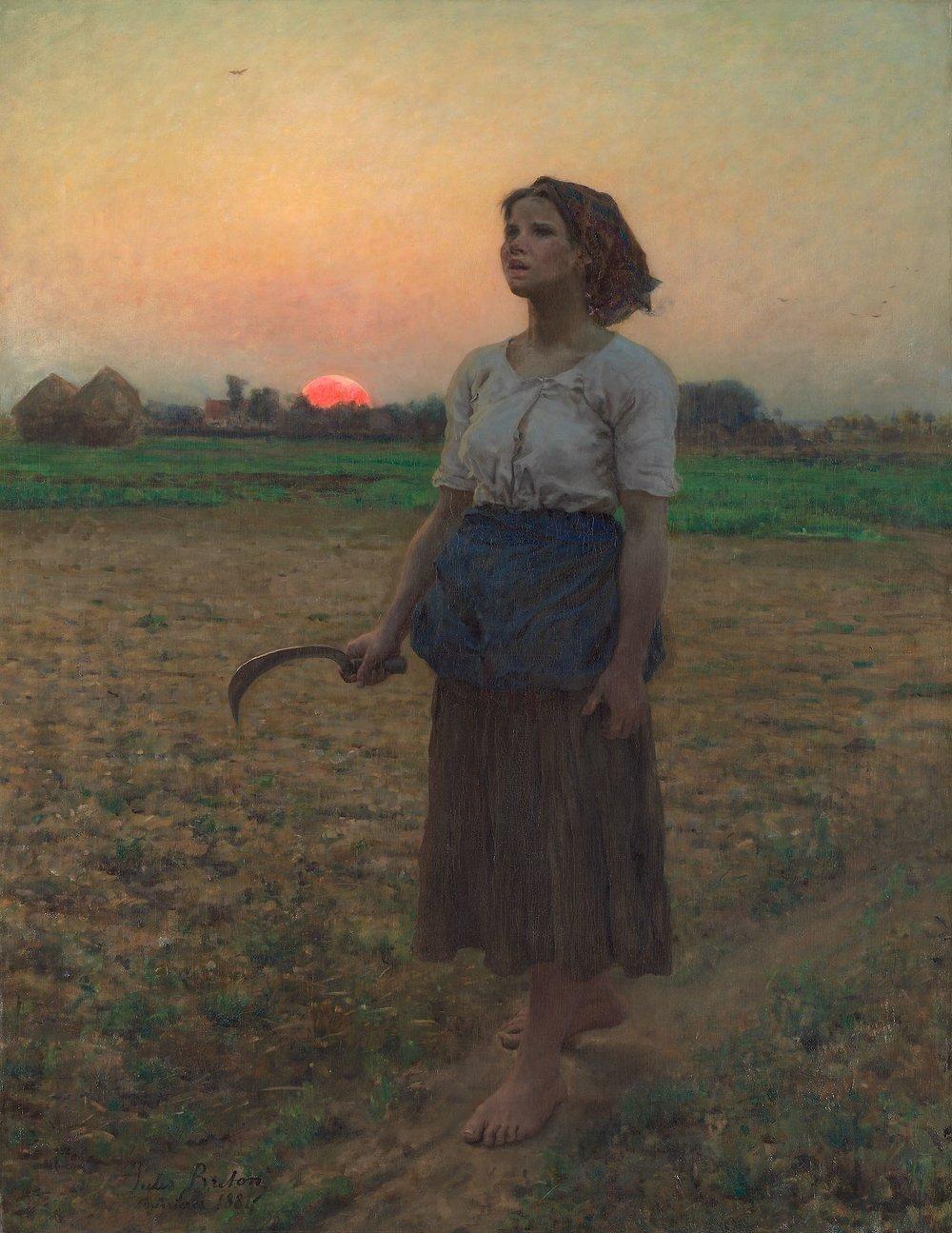 Jules Adolphe Breton,  The Song of the Lark