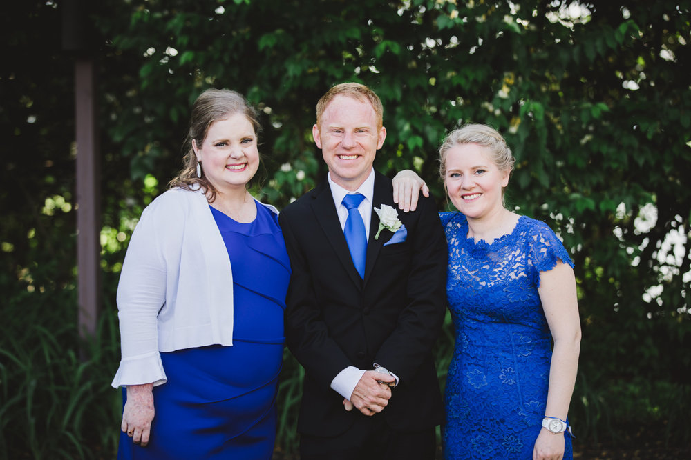 My siblings and I on my brother's wedding day.