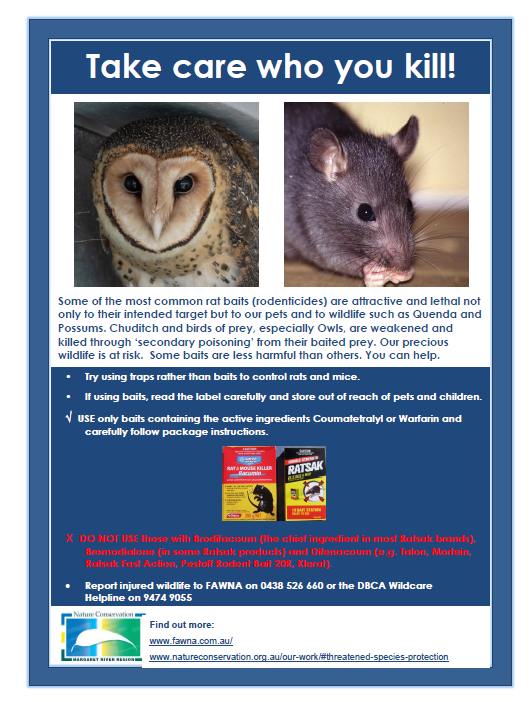 Rodenticide Awareness - By Nature Conservation