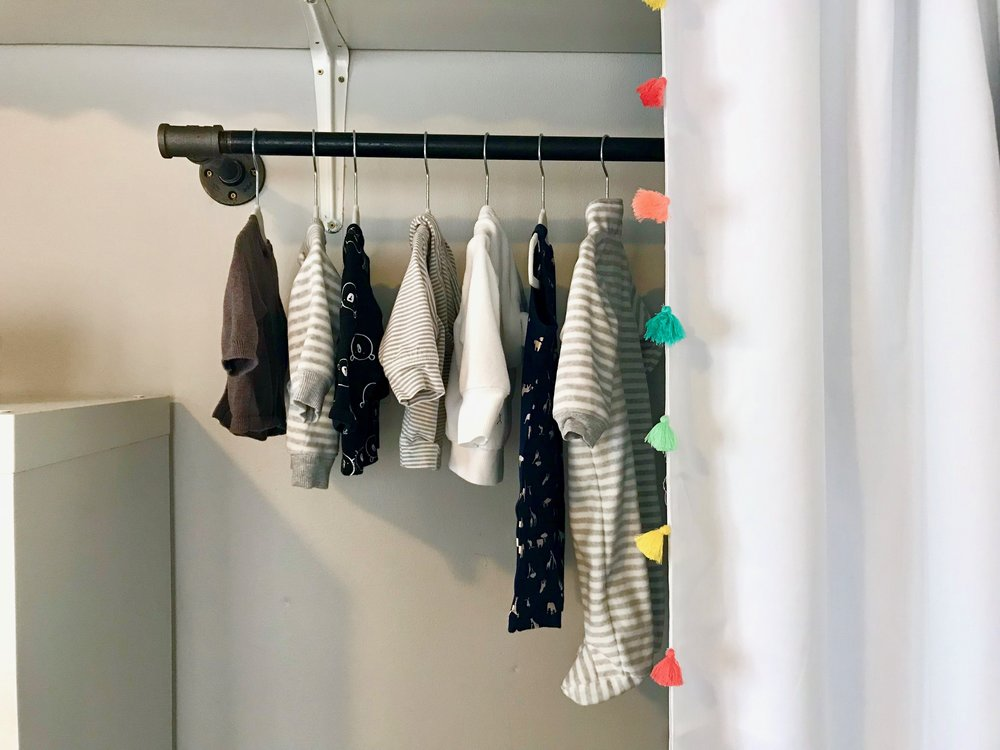 curtains  | hanging rod (handmade)