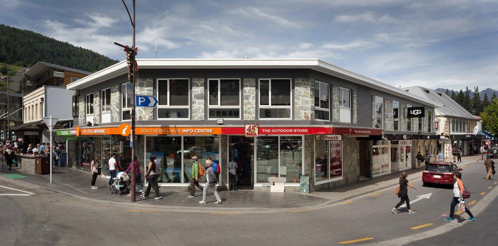 Tiki Corner Building