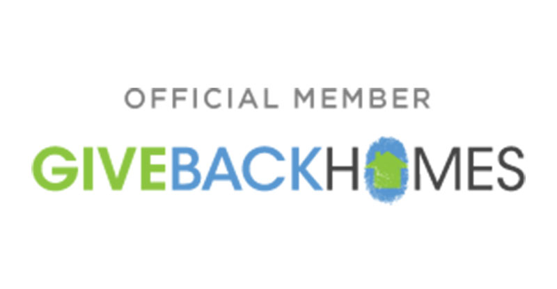 Click Here to Give Back Homes