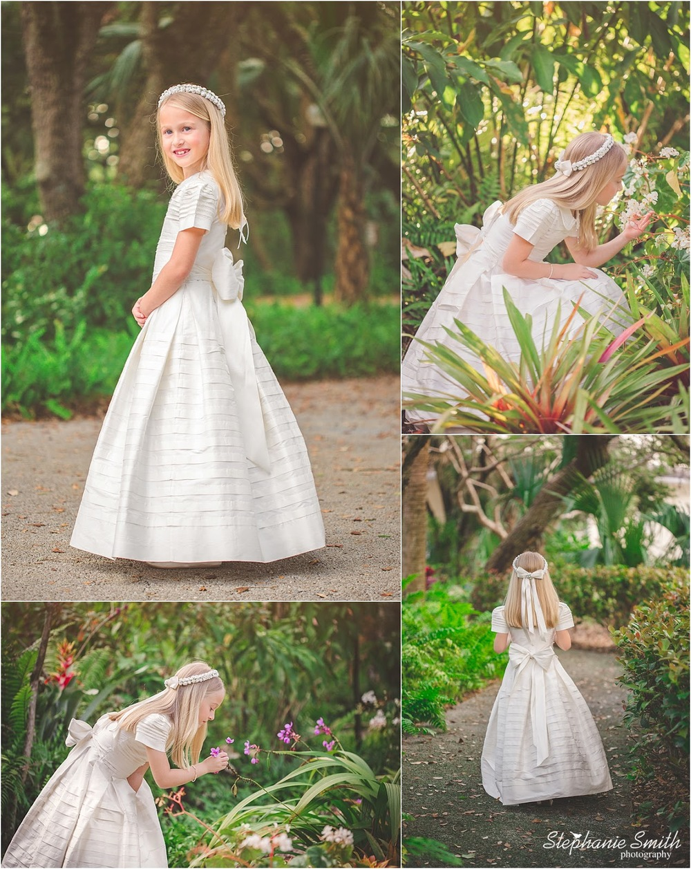 Palm Beach Gardens Photographer: N\'s First Communion Session ...