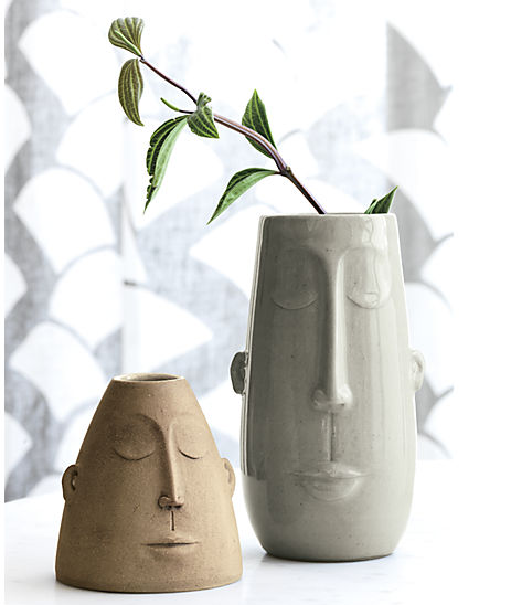 CB2:  Bihna Vases  (these were just released as part of CB2's new arrivals last month, but seem to have disappeared from the site right now).