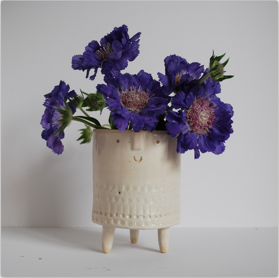 Atelier Stella Ceramics:  Medium Tripod Planter  £60.00