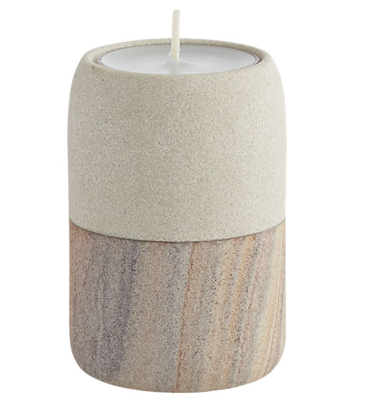 Strata Candle Holder  $7.95