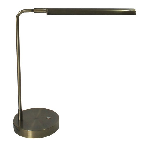 Threshold  Brass Strip LED Swivel 4-way Desk Lamp  $49.99