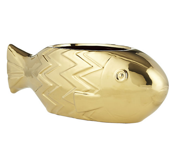 CB2  Fish Planter  $49.95