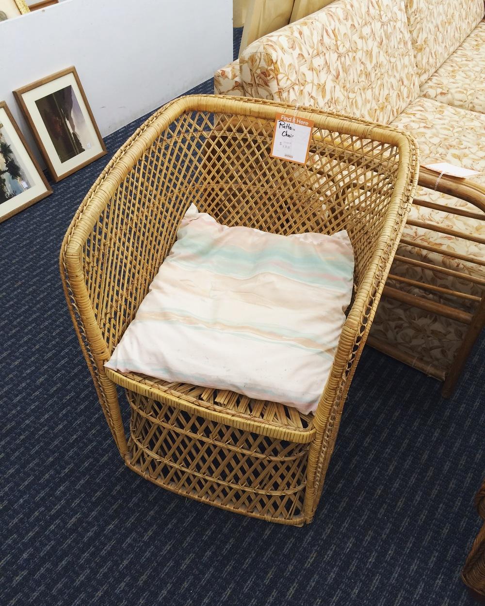 rattan chair