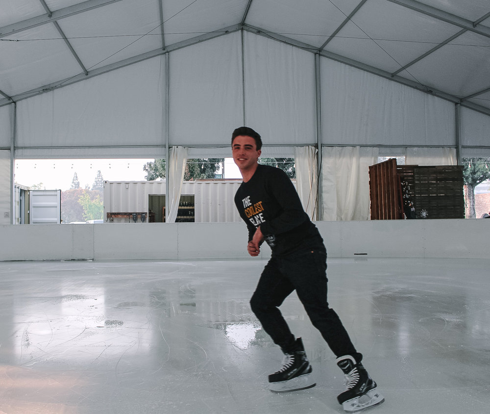 Matt - Hey everyone, I've been skating for about 7 years now and this upcoming season will be my 3rd year at Modesto On Ice. I have been playing hockey since I was 11. Hockey's what I enjoy doing on my free time and helping out in the community as well. I'm looking forward to teaching everyone the proper technique on how to skate and have fun while doing it!