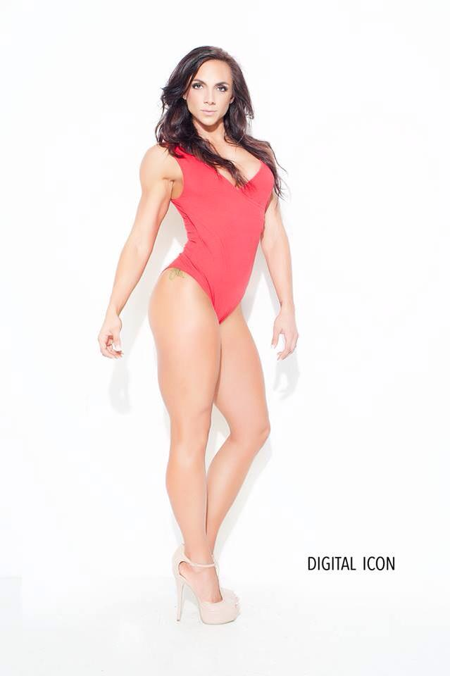 Fitness IFBB Pro Nat Rochner makeup artist Veronica Fensel