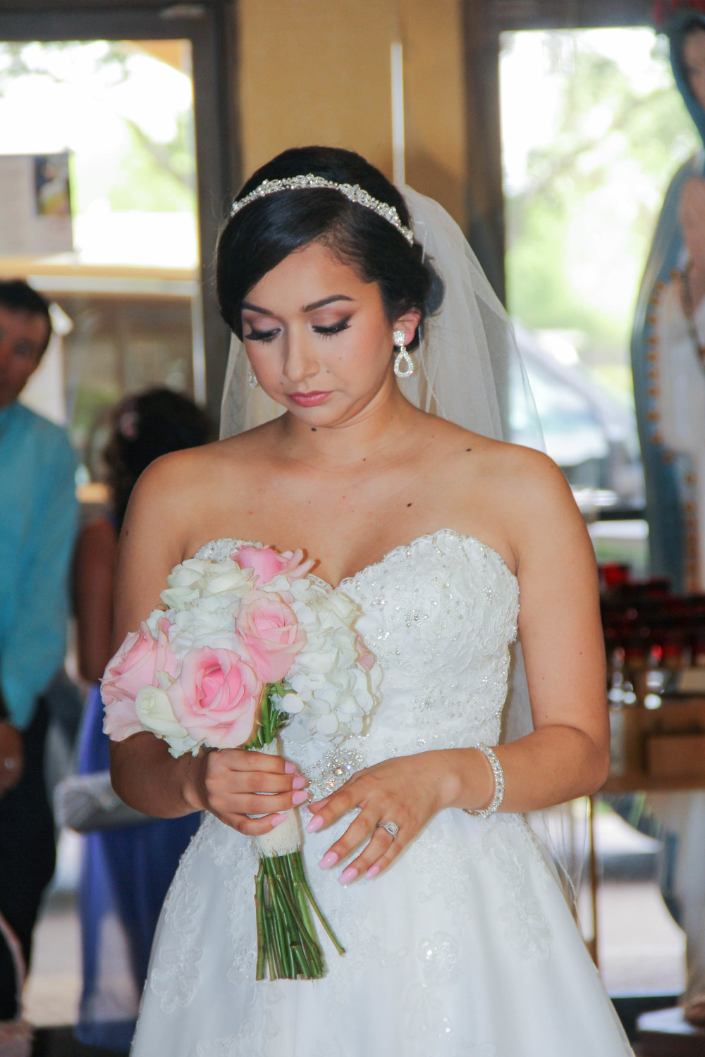 Orange county, san diego, los angeles bridal makeup artist and hair stylist Veronica Fensel