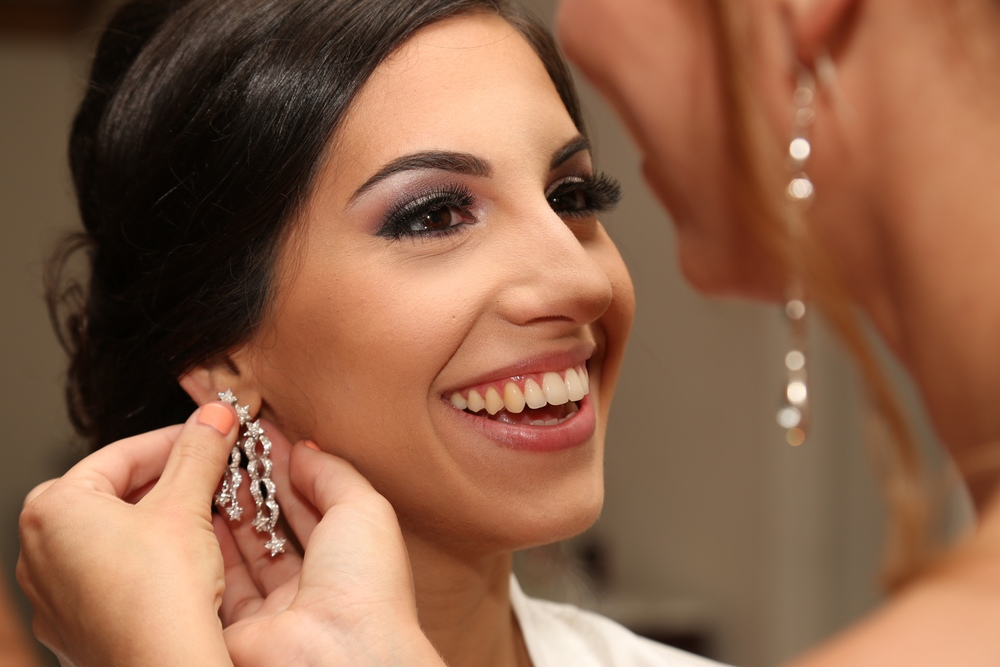 Orange county wedding makeup