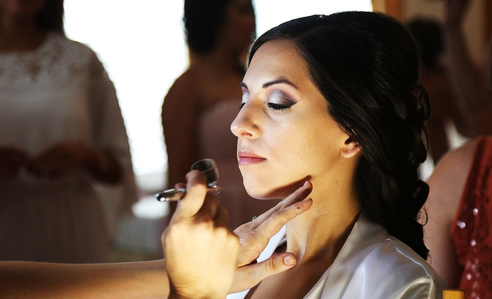 Airbrush bridal makeup Orange County