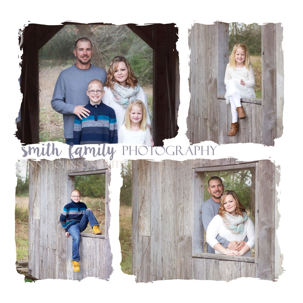 Family Photography Session Collage