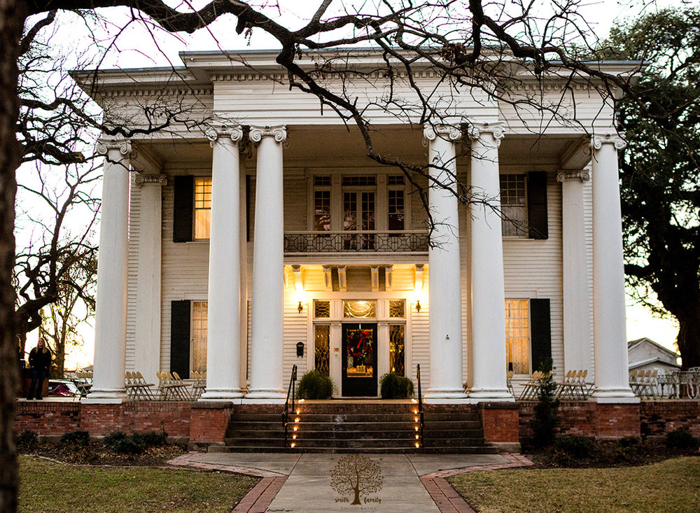 The historic Allen House in Marlin, Texas.