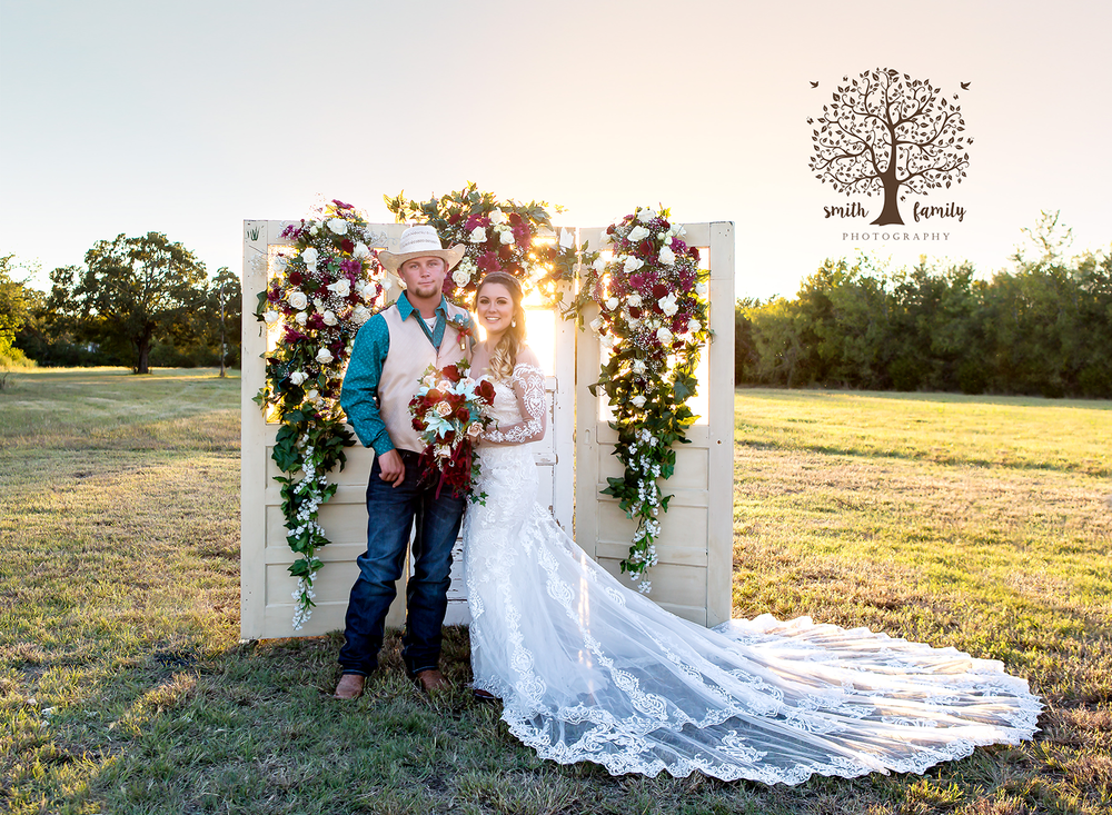 Harlie received so many compliments on her stunning wedding dress!
