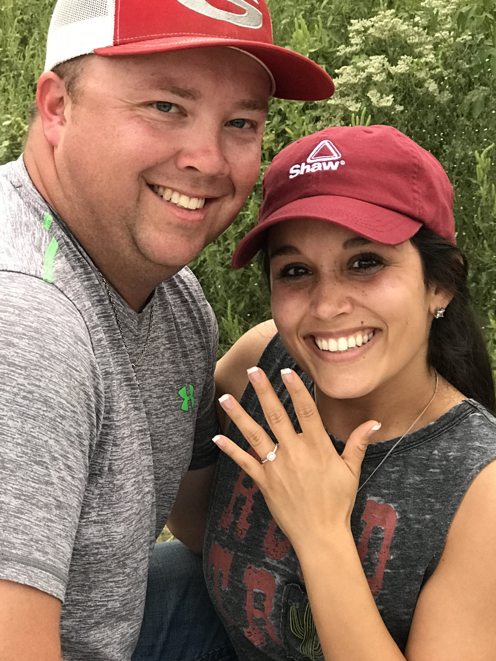 Chad and Tobie are engaged!
