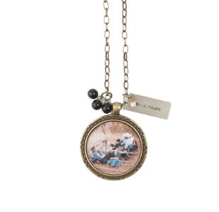 Custom Pendant. These pendants can be worn as a necklace or used as a keychain. They are customized with your favorite image from your session. You can add beads and charms to customize your pendant as you wish.