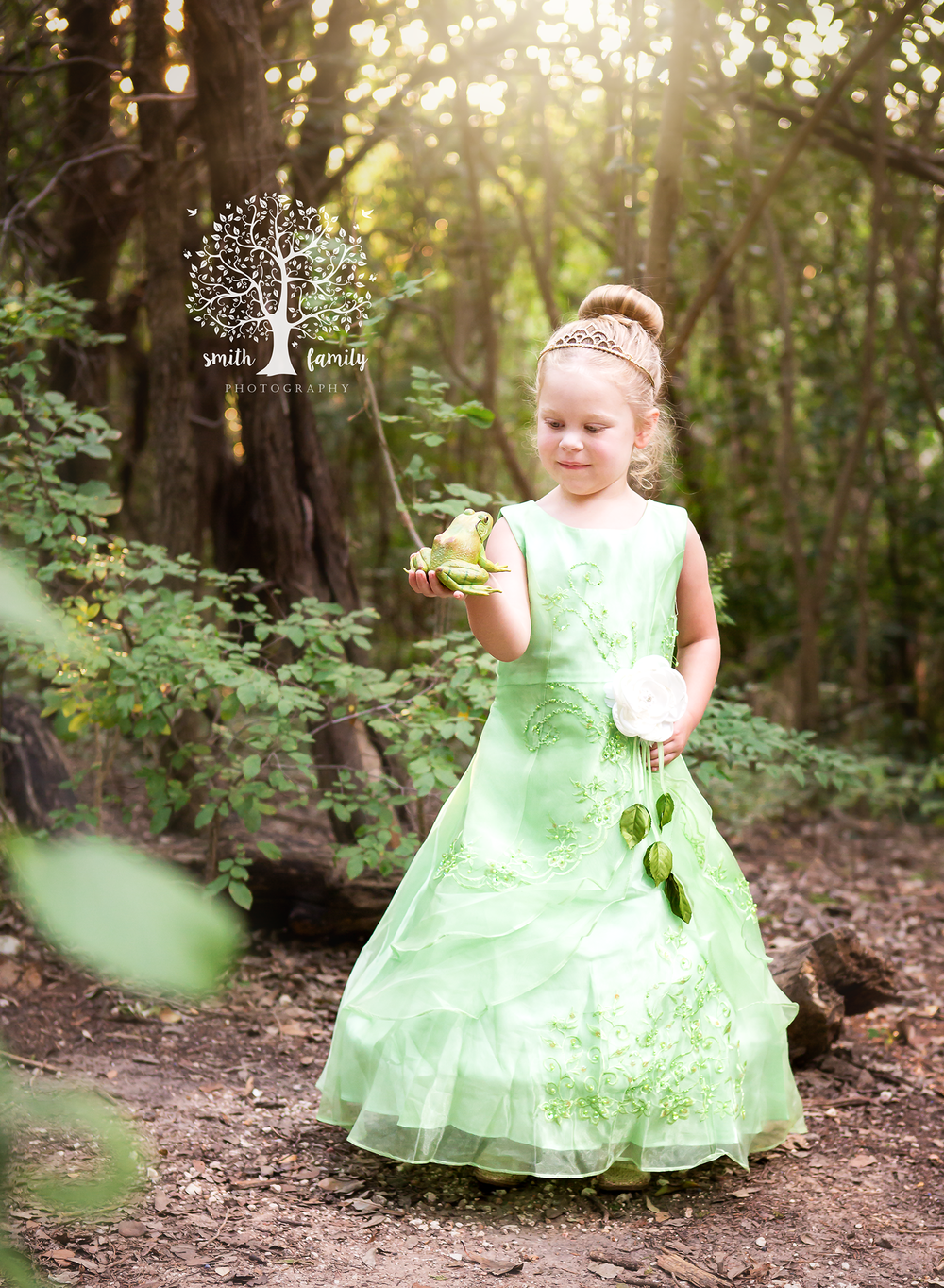 2017 - Fairytale Session. Layla had a birthday approaching and it was going to be Princess and the Frog (her favorite) themed so she had a session where she dressed up and posed like Tiana.