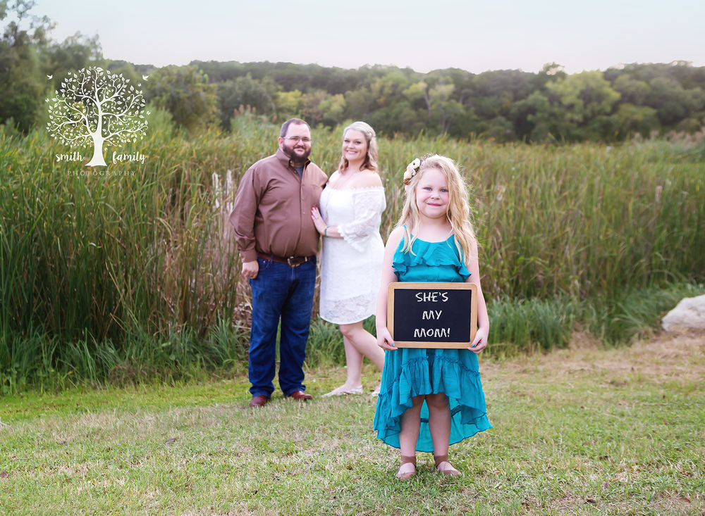 2018 - Family/Engagement Session. Layla is a little jealous about having to share her mom nowadays!
