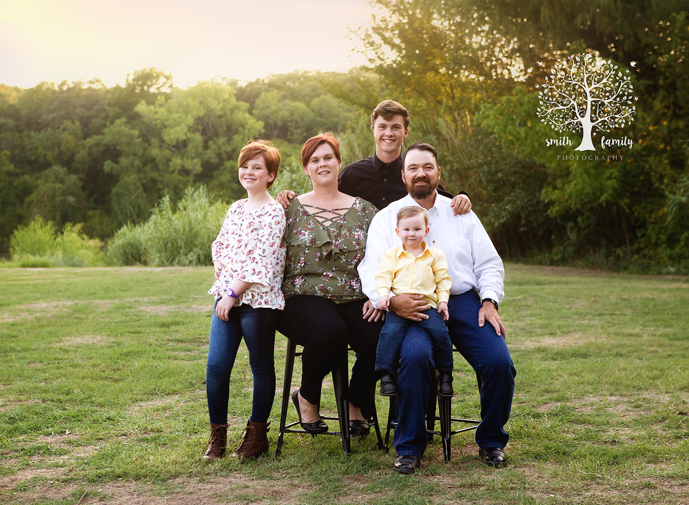 "2018 - Family Session. Look how much those adorable kids have grown! This session was bittersweet. It was the first ""family session"" they had in which they included their foster children (not pictured)."