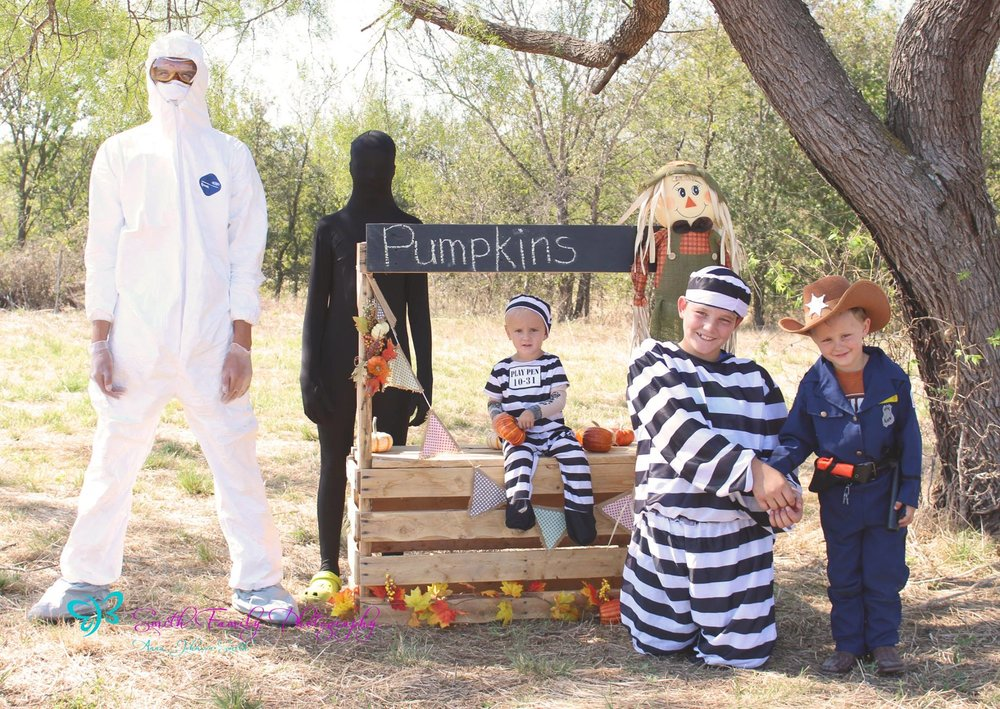2014 - Halloween Mini Session (We STILL laugh about this photo!)