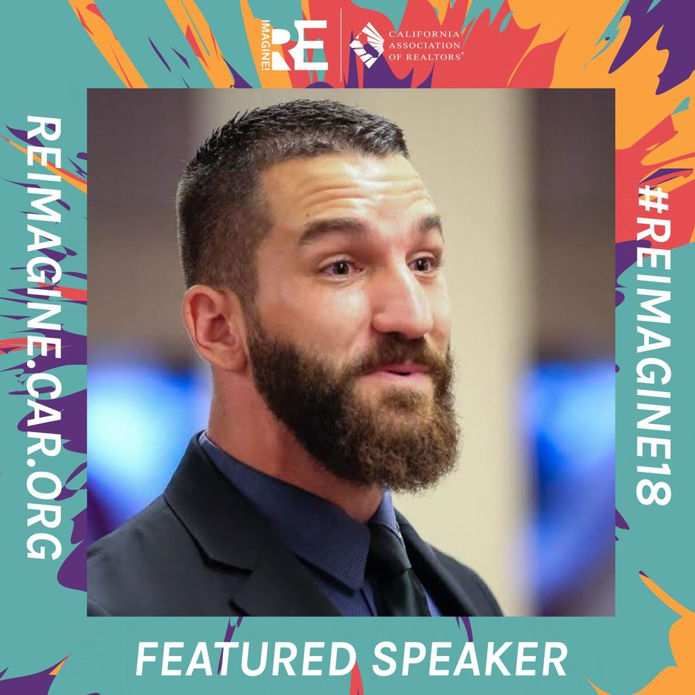 Redmond is announced as a featured speaker for this year's ReImagine Conference!
