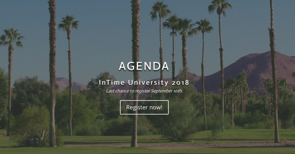 The InTime University Agenda is chock-full of training around InTime with a selection of sessions for executives, law enforcement, security, fire, and dispatch.