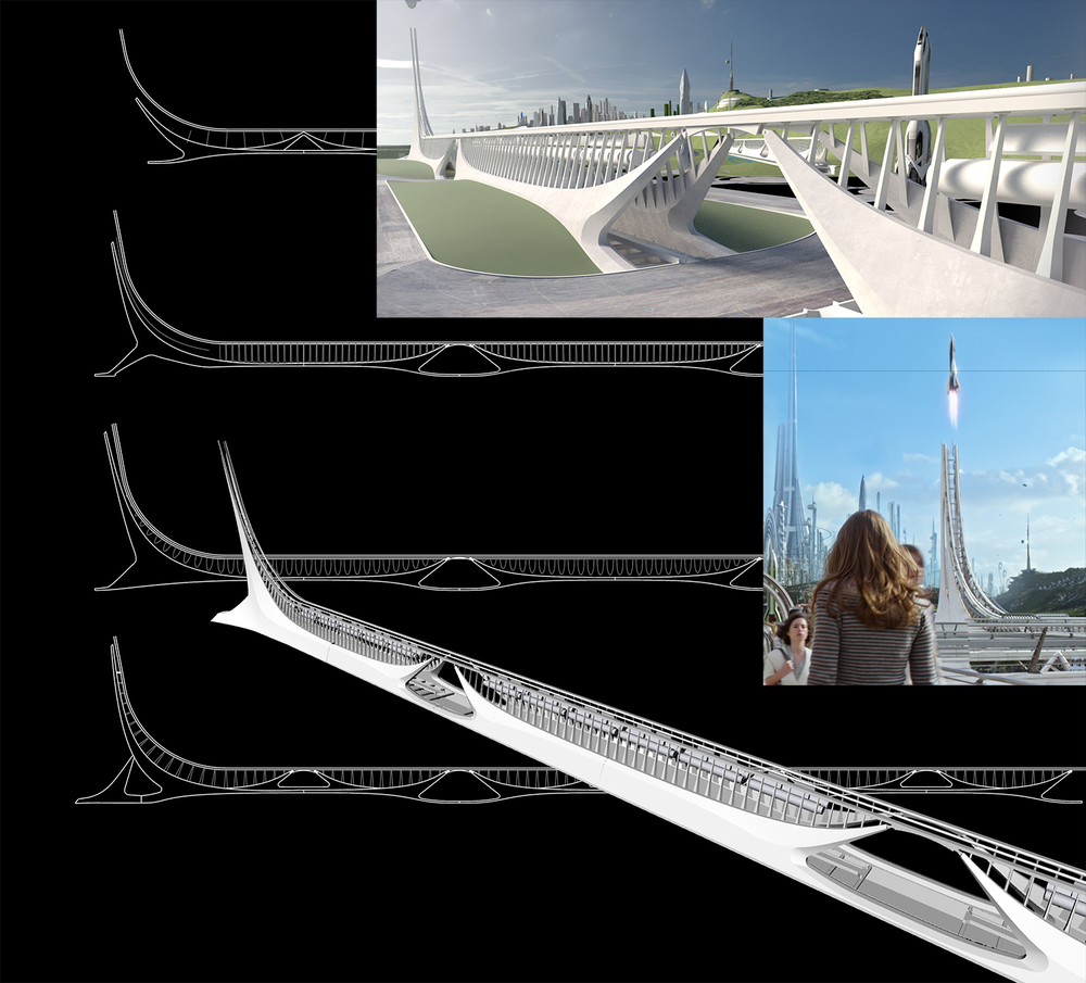 Tomorrowland 2015 - Rocket Launch Ramp - Concept Design by Stevo