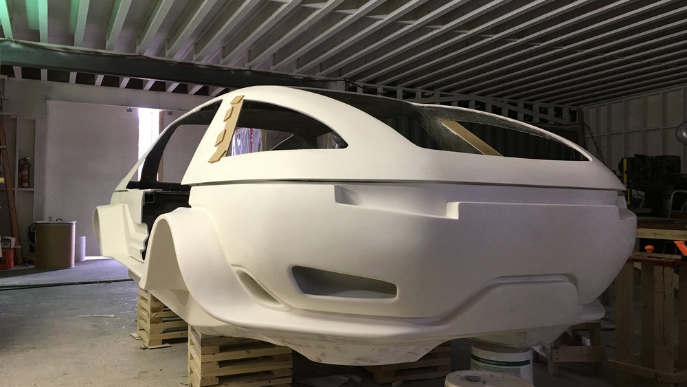 ALTERED CARBON LIMO bodyshell