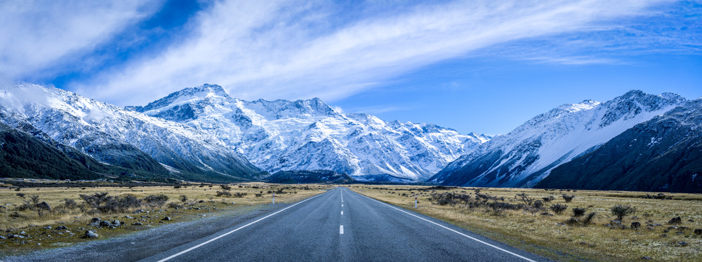 On the Road to Aoraki
