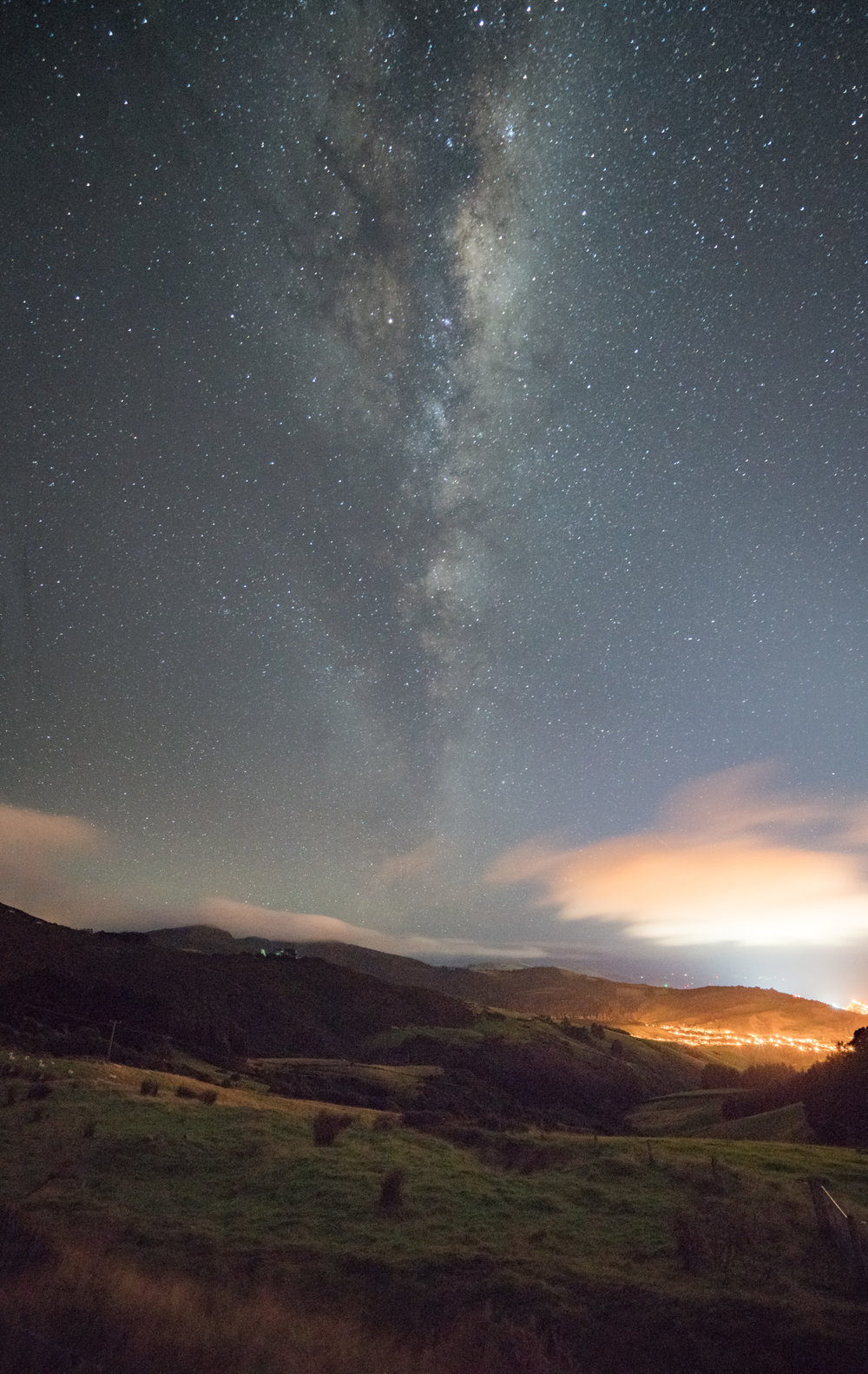 Milky Way rising over Port Chalmers Sony A7Rii - 16-35 f4 15sec | f4 | ISO 6400 | 16mm