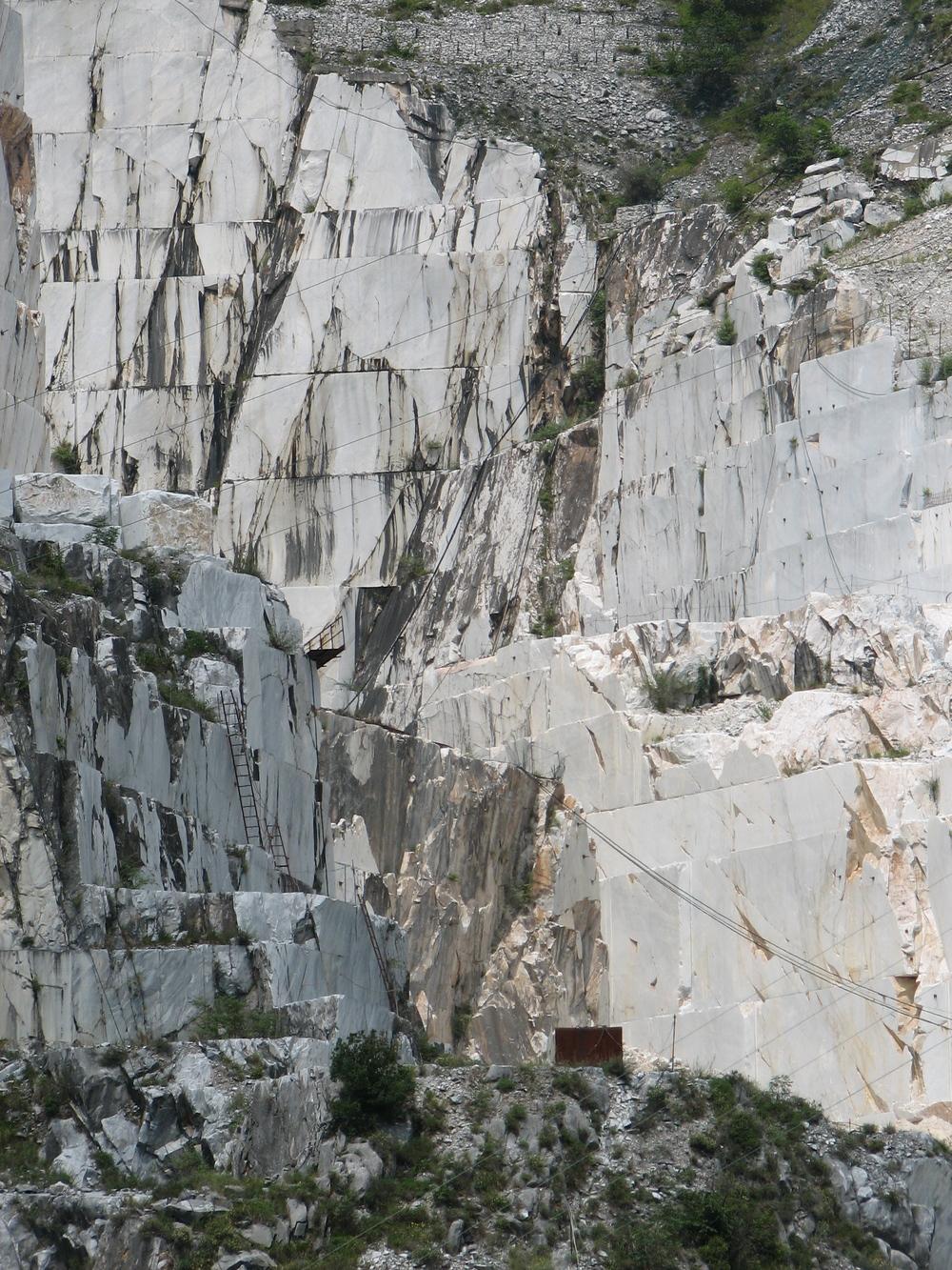 Massa Carrara marble mine