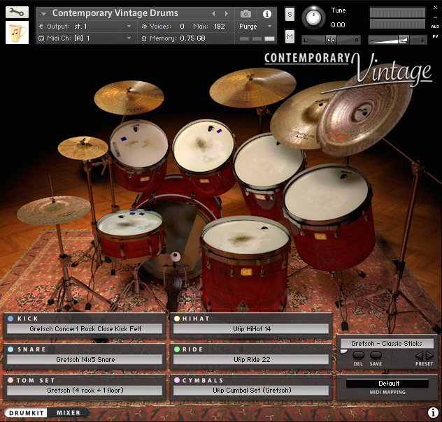 Gretsch Kit Drum Kit Page - 3D