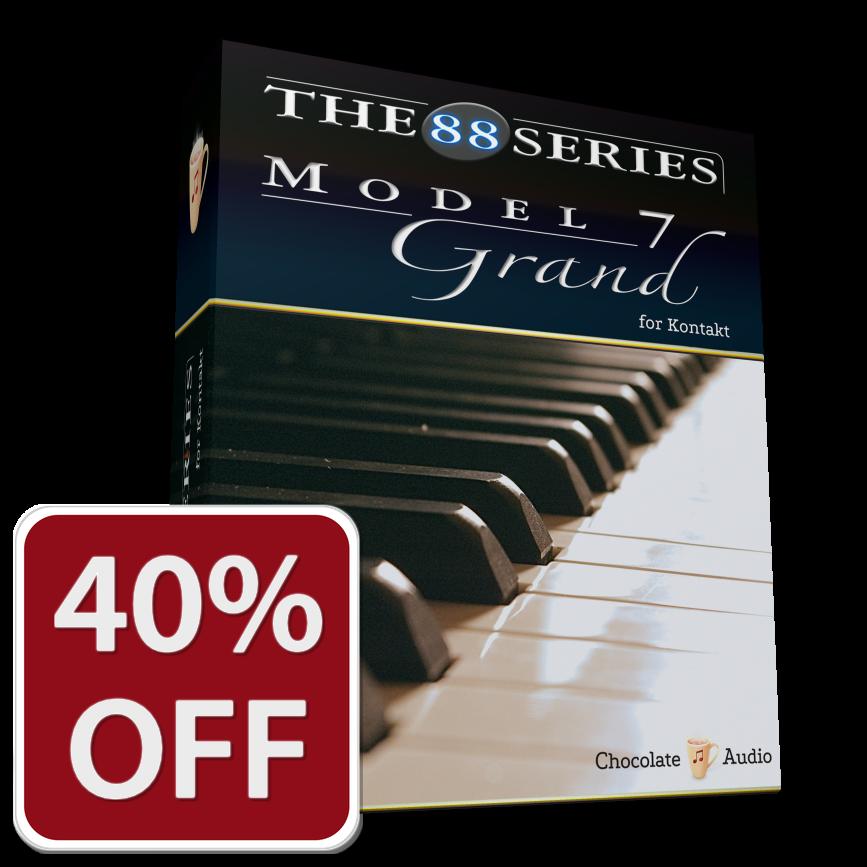 The 88 Series Pianos Model 7 V2 Chocolate Audio
