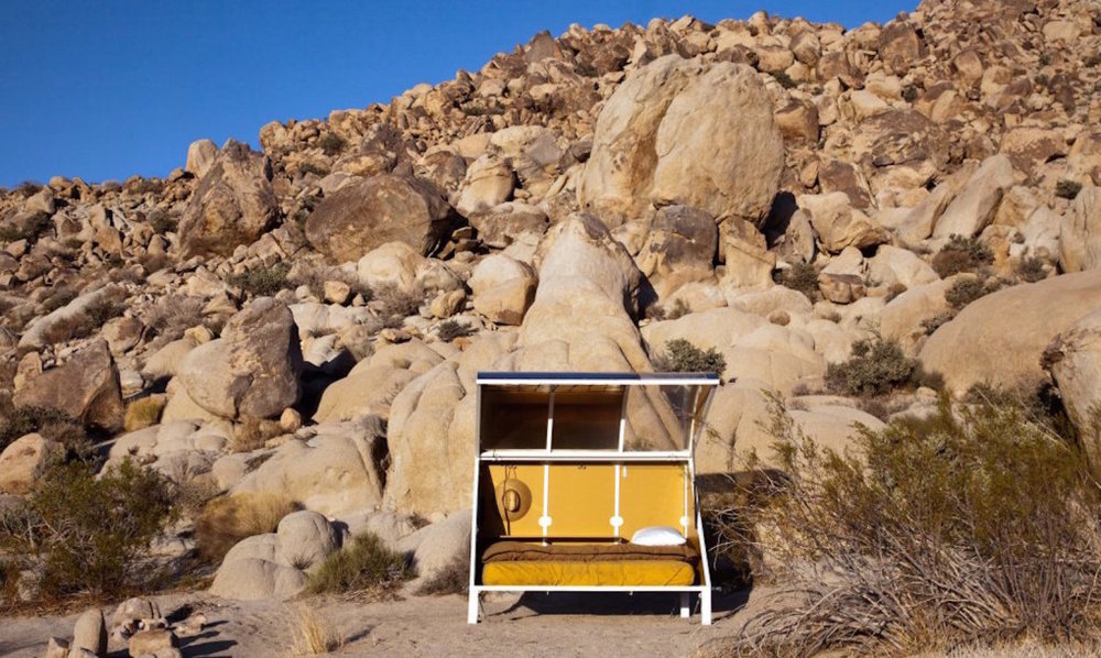 Wagon Station Encampment Residency Fall 2016 at A-Z West Joshua Tree, CA