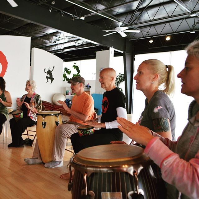 Ready to #drum and tune up tomorrow at Studio Nia in #santafe ❤️ Grab a drum and come join us!