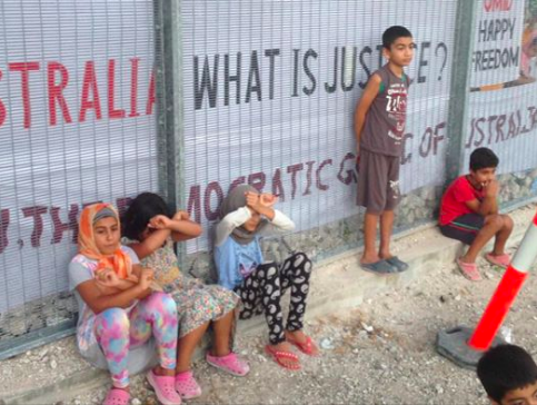 Children on Nauru. https://www.facebook.com/photo.php?fbid=10155317890690513&set=pcb.10155317890765513&type=3&theater
