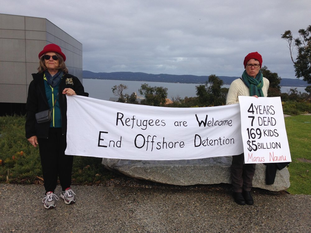 Lest We Forget. Manus. Nauru.
