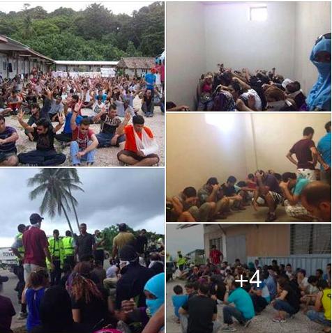 Protests on Nauru, 2015