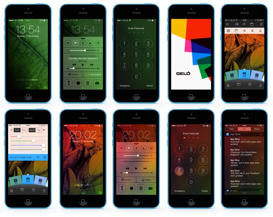 Update the colour character of your phone with Geló