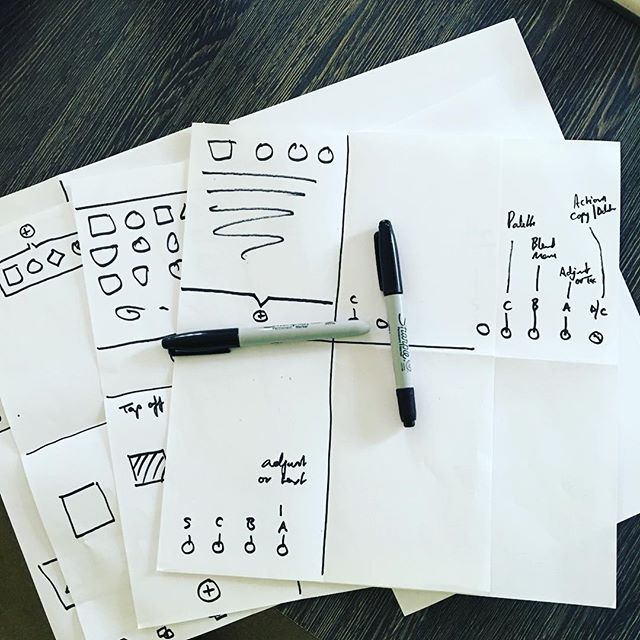 Weather's rotten out. What better way to spend the time than quick time sketching UI concepts for upcoming #app #development? #creativroom #uxdesign #interfacedesign #mobiledesign #mobileappdesign  #digitaldesign #learn #minimaldesign #panel #discussion #tech #startup #techlife #startuplife #apps #developer #coding #technology #workhard #instagood #instawork #work