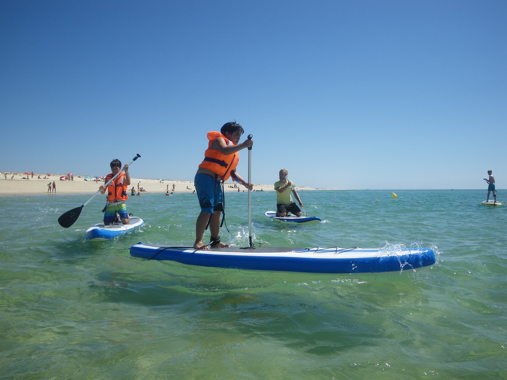 Improving your SUP Skills - Fuseta Beach