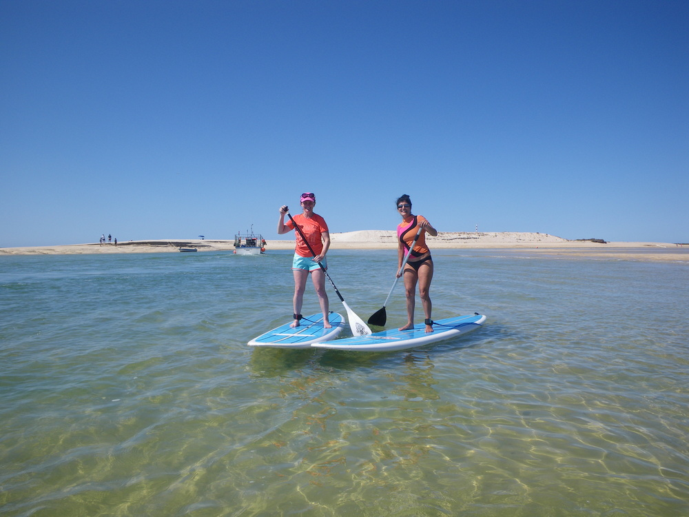 SUP Touring around Fuseta in the Ria Formosa Natural Park