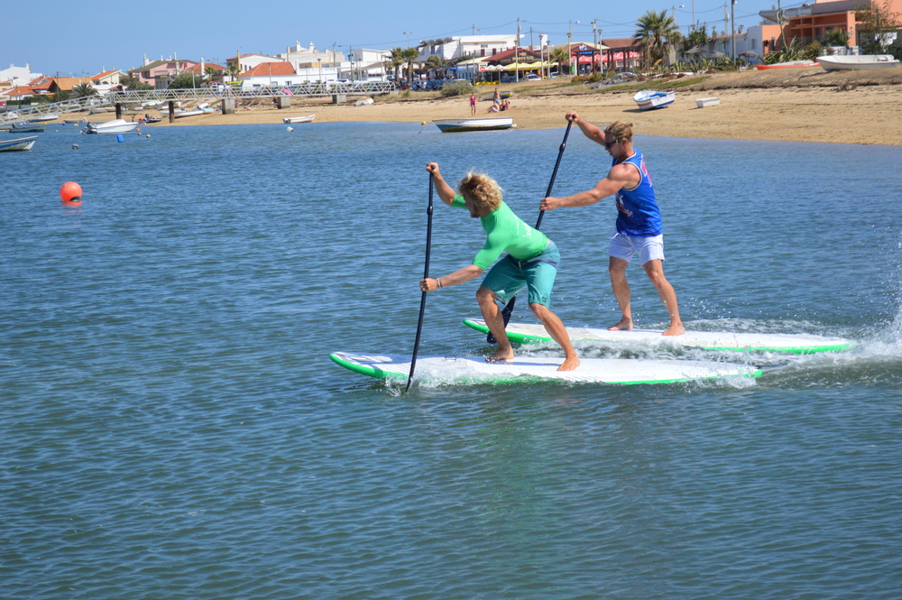 SUP racing - an amazing workout